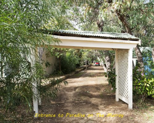 Entrance to Paradise on The Murray