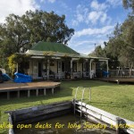 Wide Open Decks for Long Sunday Lunches